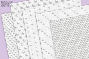 Print on Demand: Pearl Beaded Foils Graphic Textures By JulieCampbellDesigns 7