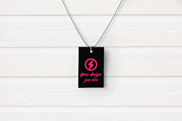Pendant Product Mock Up Set Graphic Preview