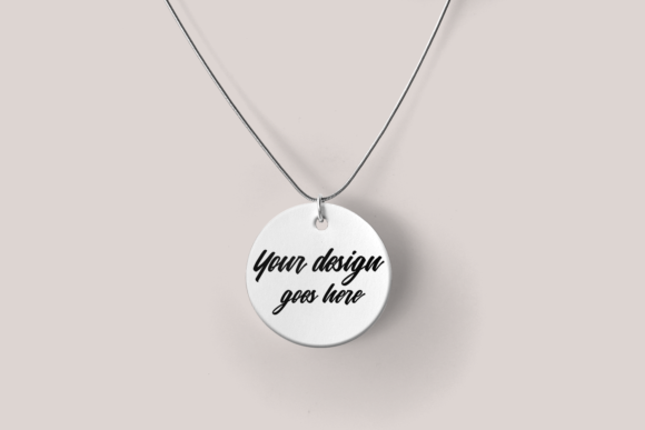 Pendant Product Mock Up Set Graphic By RisaRocksIt Image 6