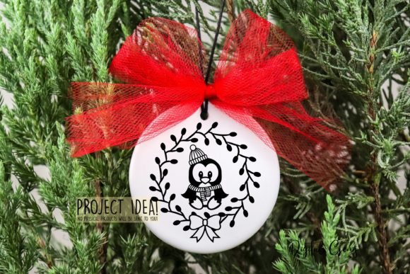 Download Free Penguin Paper Cut Design Graphic By Digital Gems Creative Fabrica for Cricut Explore, Silhouette and other cutting machines.