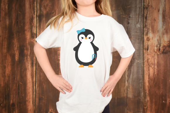 Download Free Penguin Graphic By Pinoyartkreatib Creative Fabrica for Cricut Explore, Silhouette and other cutting machines.