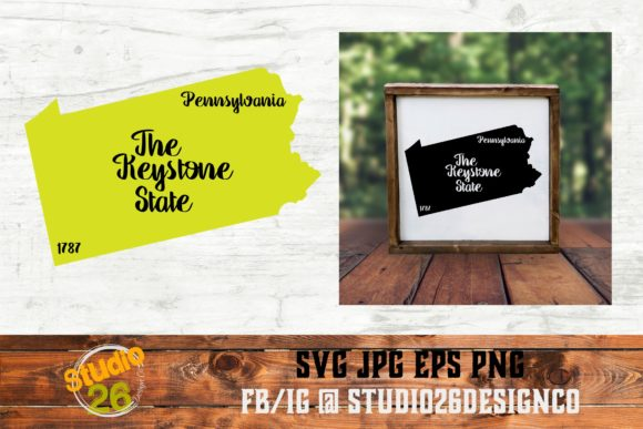 Download Free Pennsylvania State Nickname Svg Png Graphic By Studio 26 for Cricut Explore, Silhouette and other cutting machines.