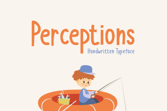 Print on Demand: Perceptions Display Font By Imposing Fonts