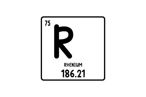 Periodic Table Alphabet R Svg Cut File By Creative Fabrica