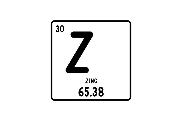 Periodic Table Alphabet Z Svg Cut File By Creative Fabrica