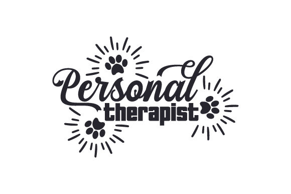 Personal Therapist Dogs Craft Cut File By Creative Fabrica Crafts - Image 1
