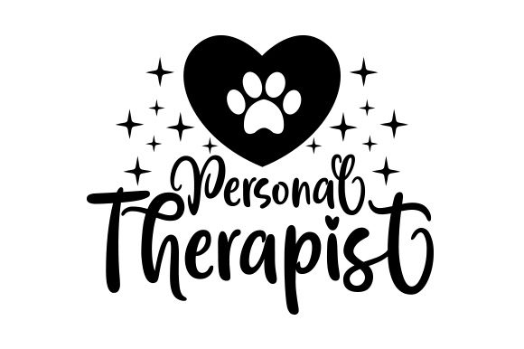 Personal Therapist Dogs Craft Cut File By Creative Fabrica Crafts