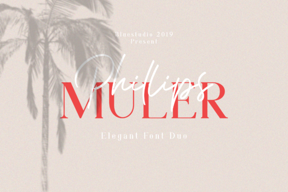 Print on Demand: Phillips Muler Script & Handwritten Font By Bluestudio