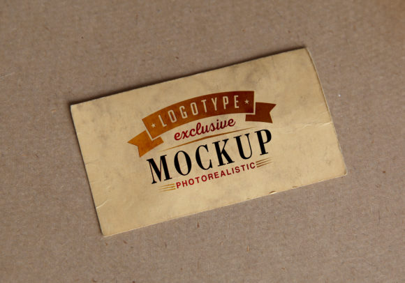 Print on Demand: Photo Realistic Mock-ups Vintage Style Graphic Product Mockups By bywahtung
