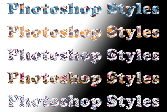 Download Free Photoshop Styles Graphic By Digital Pattern Club Creative Fabrica for Cricut Explore, Silhouette and other cutting machines.