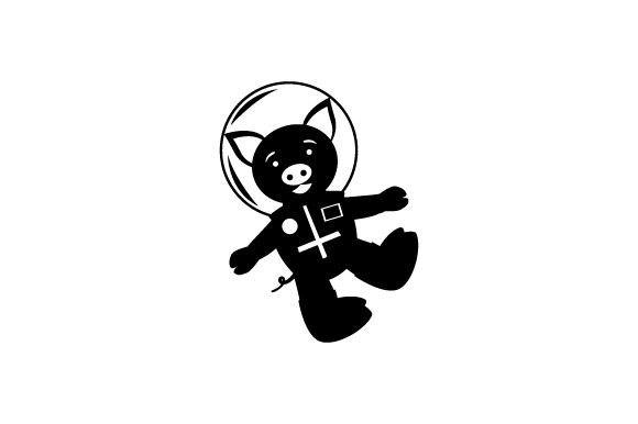 Download Free Pig In Space Suit Svg Cut File By Creative Fabrica Crafts for Cricut Explore, Silhouette and other cutting machines.