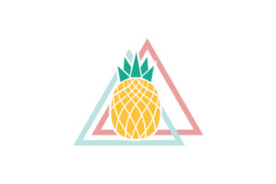 Pineapple Abstract Print Style Craft Design By Creative Fabrica Crafts