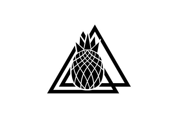 Download Free Pineapple Abstract Print Style Svg Cut File By Creative Fabrica for Cricut Explore, Silhouette and other cutting machines.