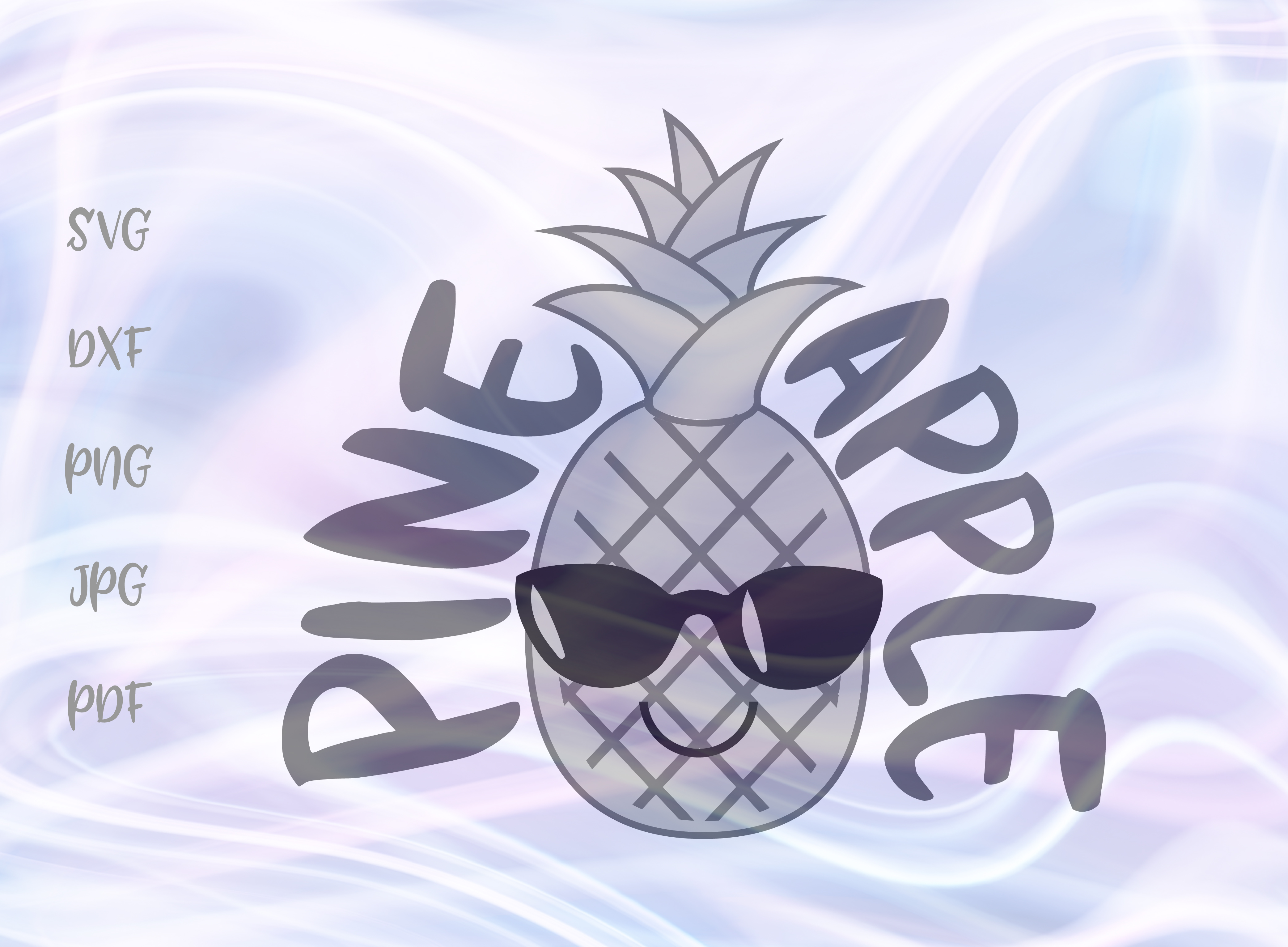 Download Free Pineapple Graphic By Digitals By Hanna Creative Fabrica for Cricut Explore, Silhouette and other cutting machines.
