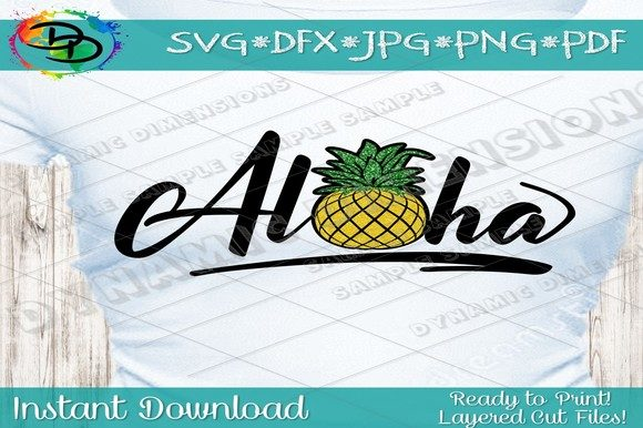 Download Free Pineapple Graphic By Dynamicdimensions Creative Fabrica for Cricut Explore, Silhouette and other cutting machines.