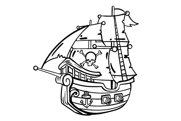 Pirate Ship Pirates Craft Cut File By Creative Fabrica Crafts - Image 2