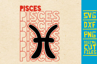 Download Free Pisces Zodiac Sign Graphic By Svgyeahyouknowme Creative Fabrica for Cricut Explore, Silhouette and other cutting machines.