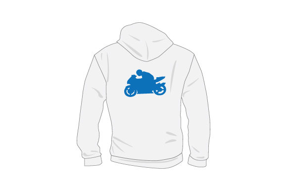 Download Free Plain Sweatshirt Mockup From Rear With Person On Motorcycle Svg for Cricut Explore, Silhouette and other cutting machines.