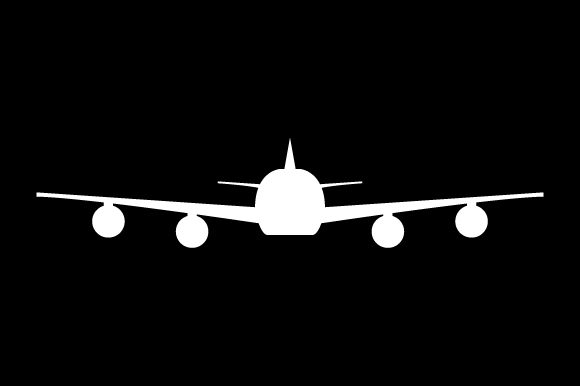 Print on Demand: Plane Icon Graphic Icons By marco.livolsi2014