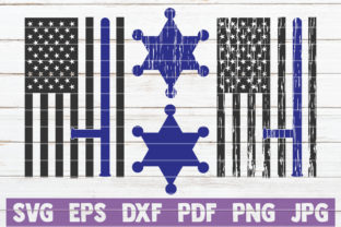 Download Free Police Flags Svg Bundle Cut Files Graphic By Mintymarshmallows for Cricut Explore, Silhouette and other cutting machines.