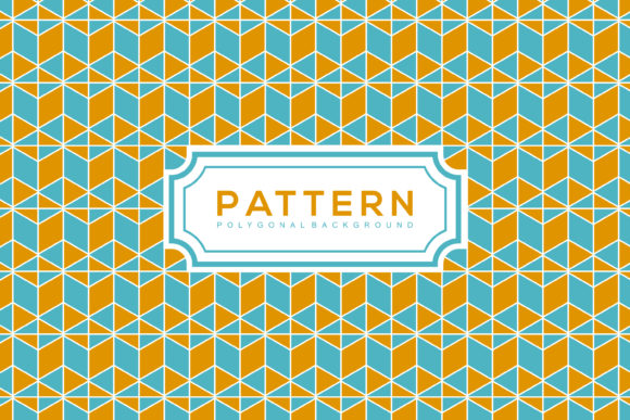 Print on Demand: Polygonal Background Pattern Graphic Patterns By noory.shopper
