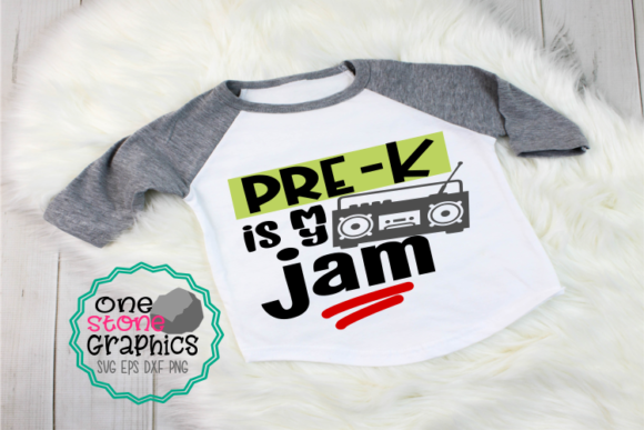 Pre-k is My Jam Svg Graphic Crafts By OneStoneGraphics