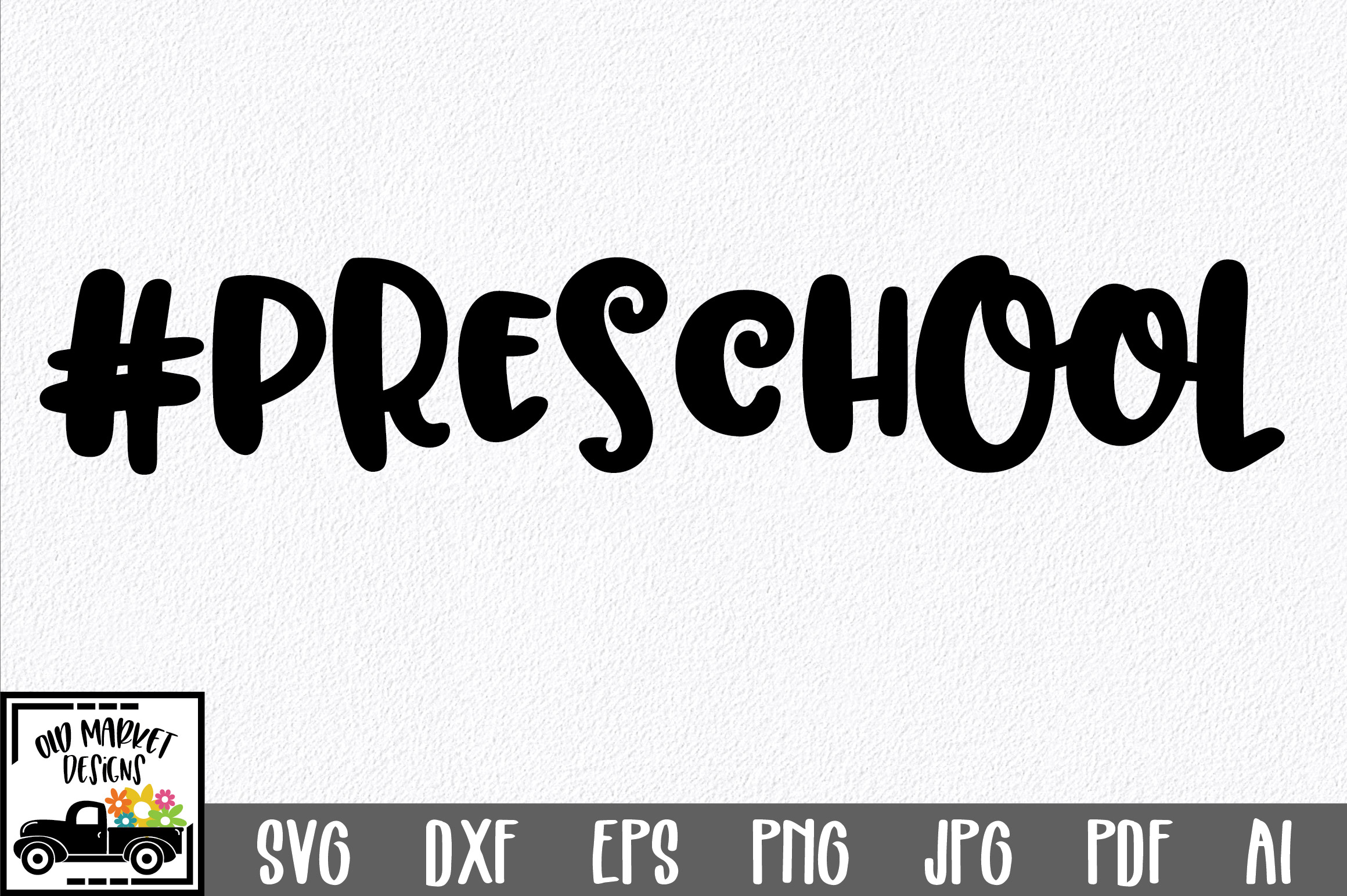 Download Free Preschool Graphic By Oldmarketdesigns Creative Fabrica for Cricut Explore, Silhouette and other cutting machines.