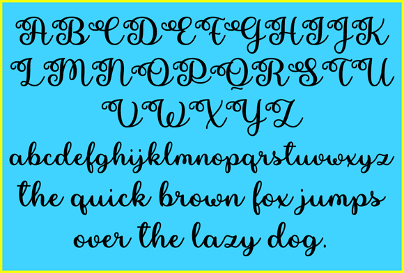 Print on Demand: Pretty Summer Script & Handwritten Font By Misti - Image 2