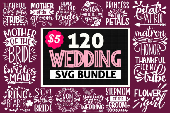 Wedding Mega Bundle Graphic Crafts By Handmade studio