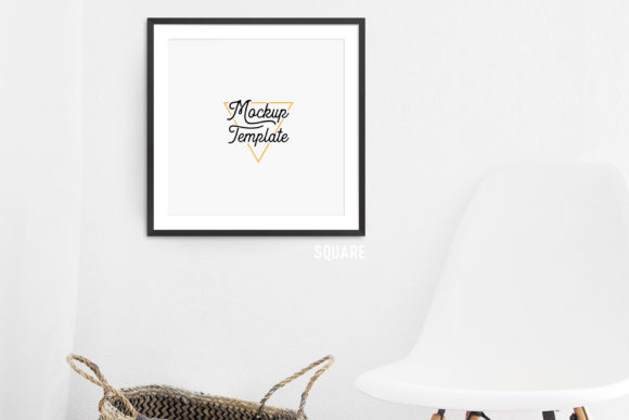 Print on Demand: Print Mockup Bundle - Chair Graphic Product Mockups By The Gradient Fox