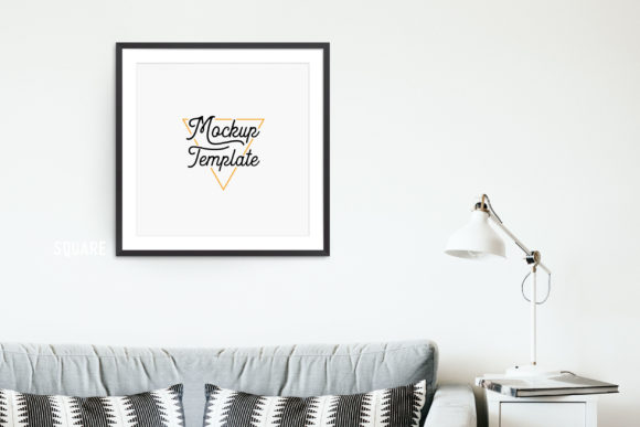 Print on Demand: Print Mockup Bundle - Lamp Graphic Product Mockups By The Gradient Fox - Image 1