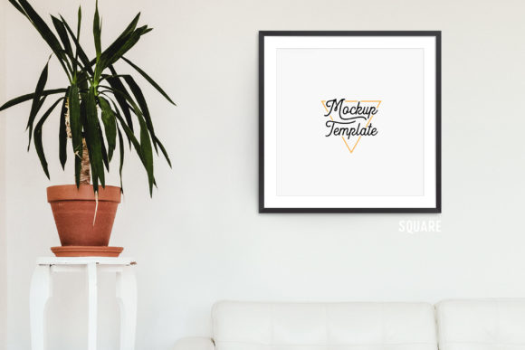 Print on Demand: Print Mockup Bundle - Plant Graphic Product Mockups By The Gradient Fox