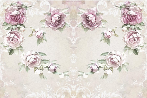 Printable Backgrounds Rustic Roses