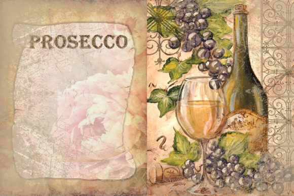 Print on Demand: Printable Backgrounds Sun Sea and Wine Graphic Backgrounds By The Paper Princess - Image 4