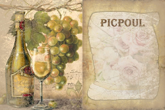 Print on Demand: Printable Backgrounds Sun Sea and Wine Graphic Backgrounds By The Paper Princess - Image 6