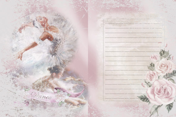 Printable Ballet Background Sheets