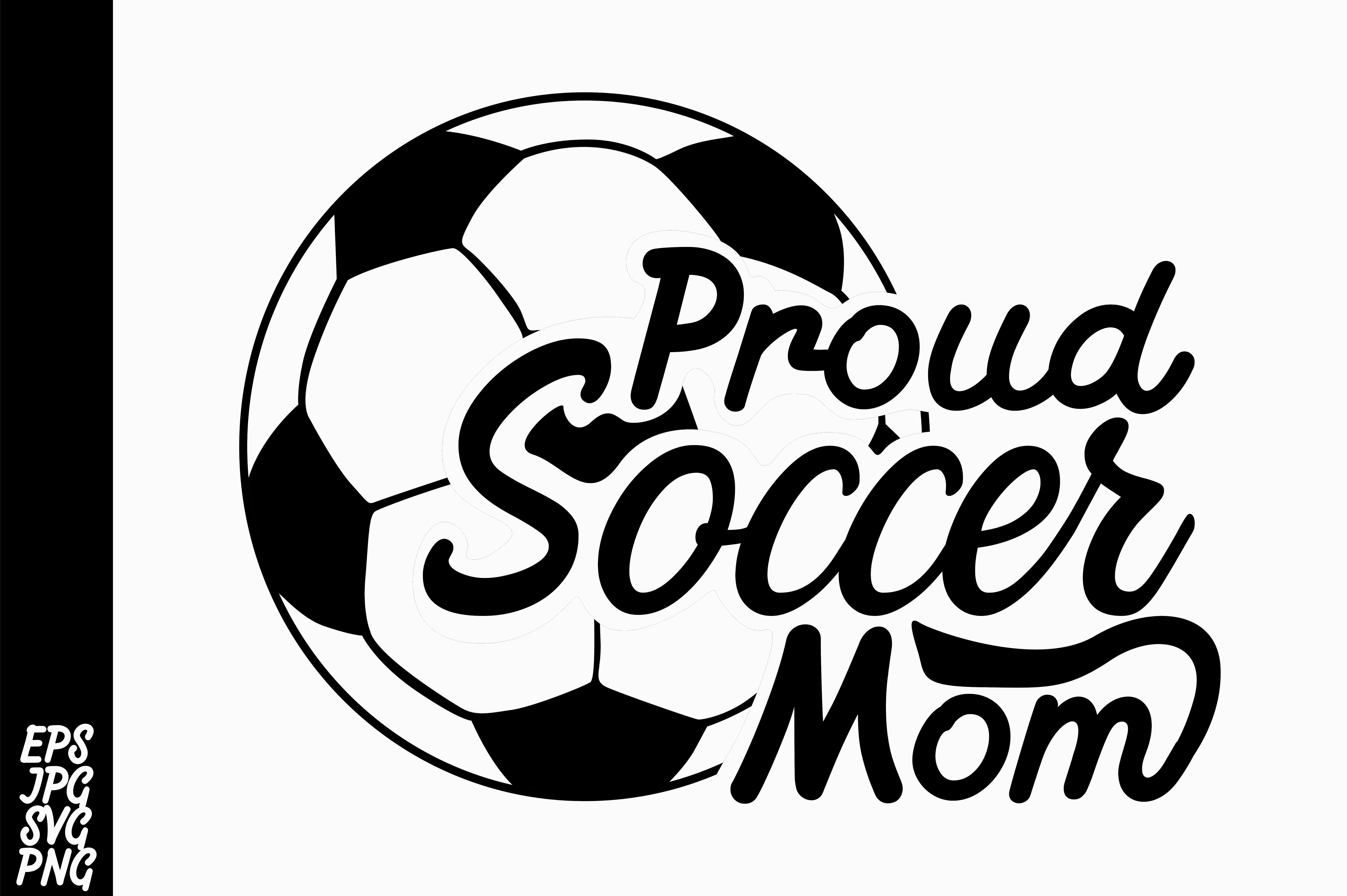 Download Free Proud Soccer Mom Svg Grafico Por Arsa Adjie Creative Fabrica for Cricut Explore, Silhouette and other cutting machines.