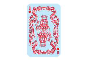 Queen of Hearts Craft Design By Creative Fabrica Crafts