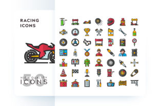 RACING ICON Graphic By Goodware.Std