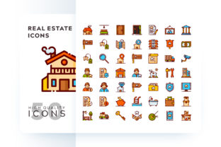 REAL ESTATE ICON Graphic By Goodware.Std