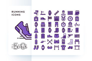 RUNNING ICON Graphic By Goodware.Std