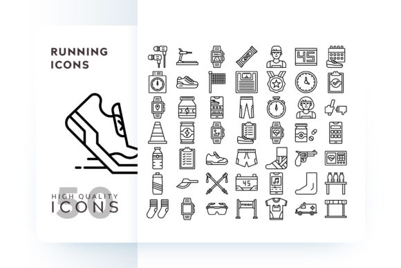 RUNNING ICON Graphic Icons By Goodware.Std