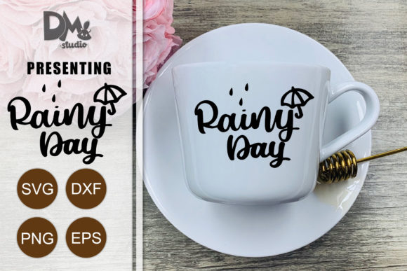 Print on Demand: Rainy Day Graphic Crafts By Sharon ( DmStudio )