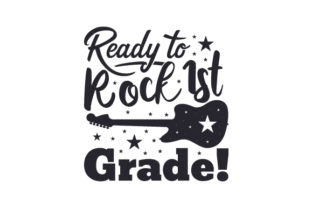 Ready to Rock 1st Grade! Craft Design By Creative Fabrica Crafts