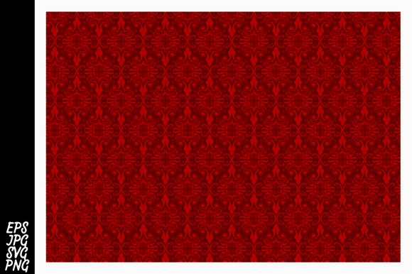 Download Free Red Ornament Pattern Svg Graphic By Arief Sapta Adjie Ii for Cricut Explore, Silhouette and other cutting machines.
