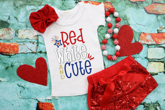 Download Free Red White And Cute Svg Graphic By Morgan Day Designs Creative for Cricut Explore, Silhouette and other cutting machines.