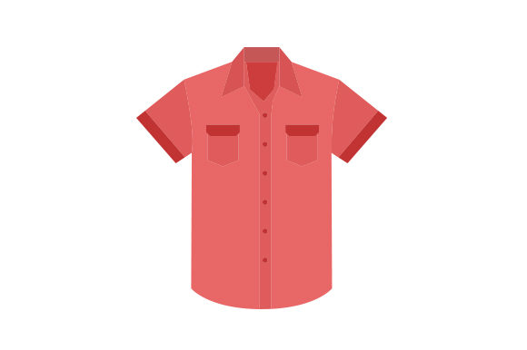 Download Free Red Shirt With Pockets Svg Cut File By Creative Fabrica Crafts for Cricut Explore, Silhouette and other cutting machines.