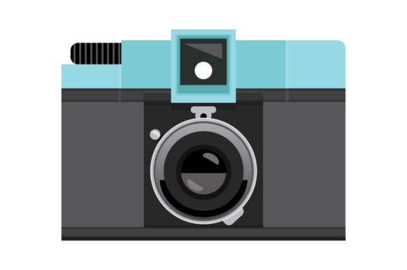 Print on Demand: Retro Camera Clip Art Set Graphic Objects By Running With Foxes