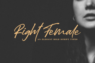 Right Female Font By Haksen