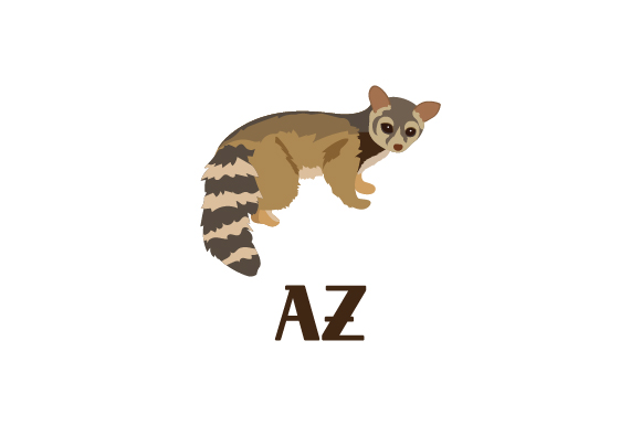 Download Free Ring Tailed Cat Az Svg Cut File By Creative Fabrica Crafts for Cricut Explore, Silhouette and other cutting machines.